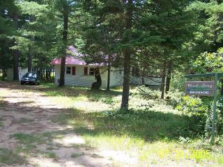 WIND SONG:  Lakefront Prop. Nestled Beneath Pines - Rainbow Lake vacation rentals