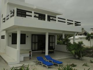 Beachfront villa in quaint fishing village El Cuyo - Yucatan vacation rentals