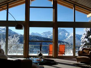 Swiss Alps, Villars, 6 bedroom contemporary chalet - Vaud vacation rentals