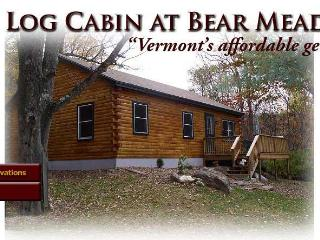 Vermont Log Cabin available for weekend and weekly - Southeastern Vermont vacation rentals