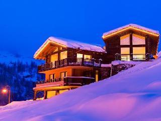 Spectacular 5-star Chalet Grace with staff, spa, steam room & gorgeous mountain views - Zermatt vacation rentals