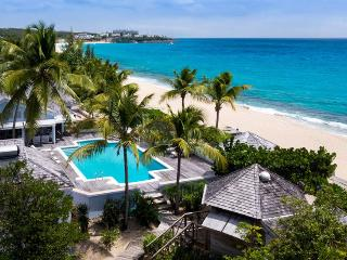St. Martin Villa 125 An Idyllic Beachfront Property Located On One Of St. Martin's Finest Beaches, Beautiful Baie Longue. - Baie Longue vacation rentals