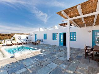 Skiron - Spacious villa in Santorini, private pool - Pyrgos vacation rentals
