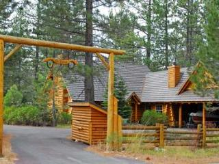 Log Lodge-on 2.5 acres, walk to beach, pets ok - Tahoe City vacation rentals