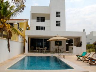Ha-Uay private beach getaway w/pool - Progreso vacation rentals