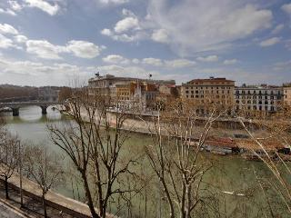 tiber view with terrace next to piazza navona - Rome vacation rentals