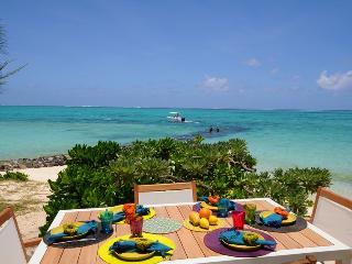 Villa La Piroga, beachfront, new and modern - Pointe d'Esny vacation rentals