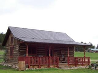 Restored log barn/cabin - South Dakota vacation rentals