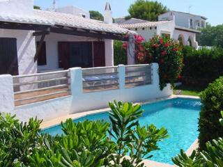 Mediterrean villa with private with sea views - Es Castell vacation rentals
