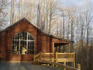 Banjo Ridge Cabin is private and secluded with Wifi, Hot tub and fire pit - Butler vacation rentals