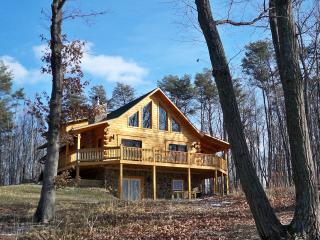 Exquisite True Log Cabin/Chalet Rental - Hedgesville vacation rentals