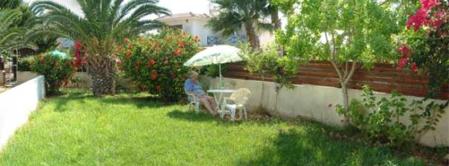 Garden - Aynine,  a holiday house, just 3minutes walk to the beach at Larnaca Bay - Oroklini - rentals