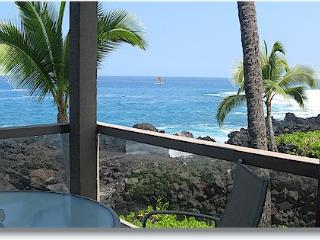 Surf & Racquet 1201 2/1 oceanfront No Booking Fee - Kailua-Kona vacation rentals