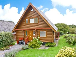THISTLE DUBH, wooden lodge, en-suite, balcony, pets welcome, WiFi, near walks - Colvend vacation rentals