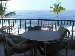 The View is incredible - Kona Reef 2 Bedroom 2 Bath - Direct Ocean Front ! - Kailua-Kona - rentals