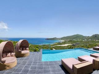 Sea La Vie: 4 bedr with views of the ocean and St Barths | Island Properties - Dawn Beach vacation rentals