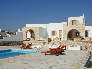 Beach front villa with pool - Naoussa vacation rentals