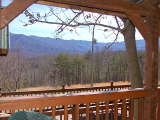 "Secluded ""CARRIES CABIN"" 30 acres near Gatlinburg - Cosby vacation rentals"