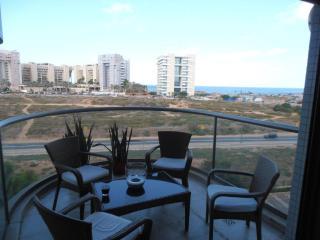 Designer Michael Neeman 2bdm luxury w/ ocean views - Tel Aviv vacation rentals