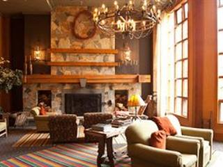 Resort Lobby with fireplace - 2015 Club Intrawest-Whistler Villa, 1 or 2 Bdrm - Whistler - rentals