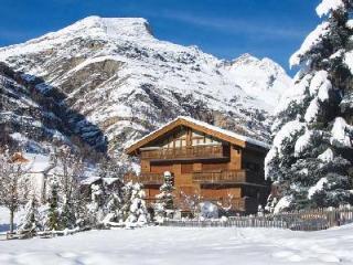 Modern Chalet Lumiere with open layout boasts views of the Matterhorn & ski-in/ski-out access - Zermatt vacation rentals