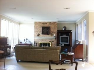 Living Area with walls of windows - Beautiful  Guest Rm in heart of North Dallas - Carrollton - rentals