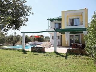 SUPERB VILLA-1 OVERLOOKING SEA AND GOLF COURSE - Afandou vacation rentals