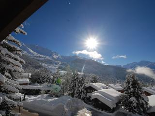 in Verbier beautiful attic apartment Panorama view - Verbier vacation rentals