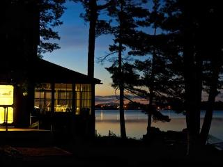 Maine lake ~ stunning sunrises ~ 5 private acre - Burlington vacation rentals
