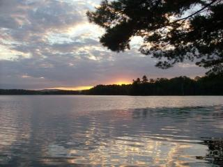 Maine lake ~ stunning sunrises ~ 5 private acre - Lincoln vacation rentals