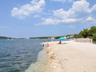 A1 HOUSE ON THE BEACH BY THE SEA, Ground Floor - Rogoznica vacation rentals