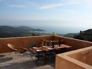 Villa Aurora, Corsica, Cap Corse Glorious Seaviews - Tomino vacation rentals