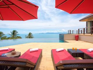 Stunning private villa infinity ocean pool views - Surat Thani vacation rentals