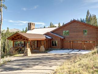 New Luxury Log Home on 6 Acres 2 miles to Peak 8 - Silverthorne vacation rentals
