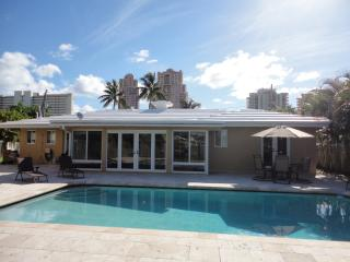 Waterfront Home with Pool and Dock Steps to Beach - Fort Lauderdale vacation rentals