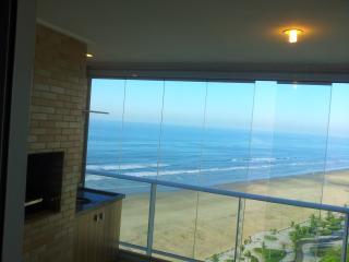 apartamento na praia de frente ao mar - State of Sao Paulo vacation rentals