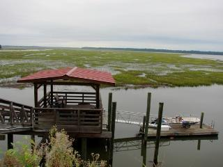 House on deep water with large dock.  4 bedrooms! - Townsend vacation rentals