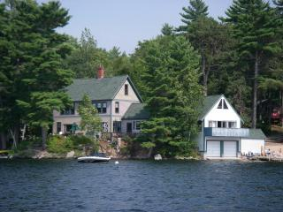 Lakefront Home with private dock on Great East Lak - Wakefield vacation rentals
