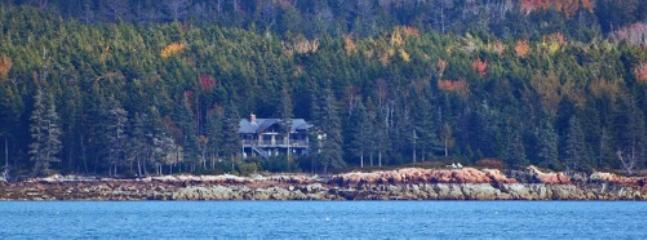 View of Caddo North from across the Bay. - Caddo North - Cranberry Isles - rentals
