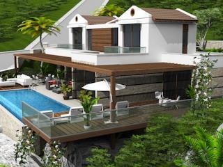 New 4 Bed Villa Lycia – (001VA-3 ) - Kalkan vacation rentals