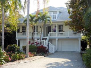 FRONT OF HOUSE - Bowen Bayou-Sanibel Bayous - Captiva Island - rentals