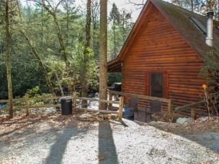 A TUMBLIN` RUN- 2BR/1BA CABIN ON BEAUTIFUL FIGHTINGTOWN CREEK, SLEEPS 6, PET FRIENDLY(*DOGS STAY FREE*), COVERED DECK WITH GAS G - Blue Ridge vacation rentals