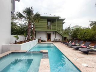 Beautiful luxury home in the heart of Rosemary Beach with private pool and hot tub - Beach Music Main House - Rosemary Beach vacation rentals