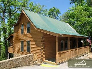 Moonshine Run   Hot Tub Outdoor Fireplace 2 Jacuzzis WiFi  Free Nights - Gatlinburg vacation rentals
