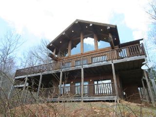 Antler Ridge log cabin - Bryson City vacation rentals
