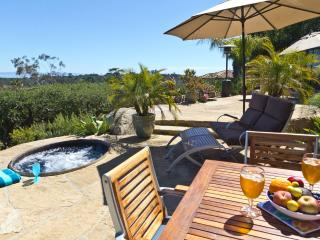 Amazing Ocean View Paradise Cottage, deck + Hot Tub, 31+ night min. contract - Santa Barbara vacation rentals