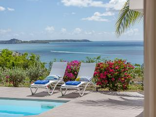 VILLA SEA DREAM...wonderful ocean and sunset views in Happy Bay, St Martin - La Savane vacation rentals