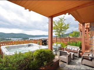 Private Terrace with Outdoor Hot Tub - Just a Short Walk to the Village Shops and Restraunts (6065) - Sainte-Lucie-des-Laurentides vacation rentals