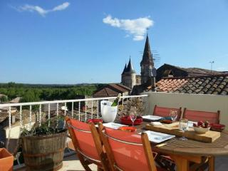 Vine Views - Plunge pool, roof terrace with views - Pouzolles vacation rentals