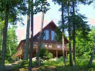 #100 Newer, spacious log cabin in Kokadjo - population `not many` - Rockwood vacation rentals